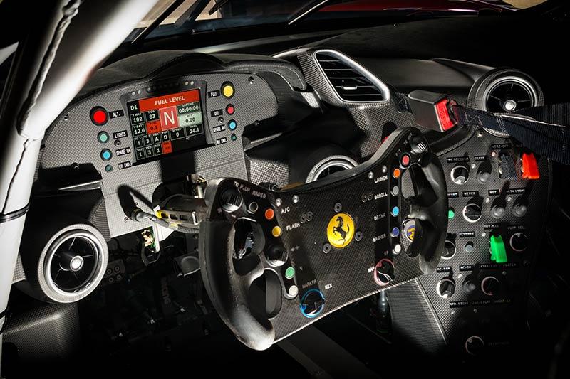 Ferrari -488-console