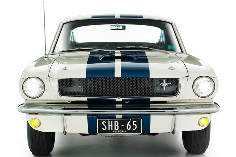 Shelby -mustang -front