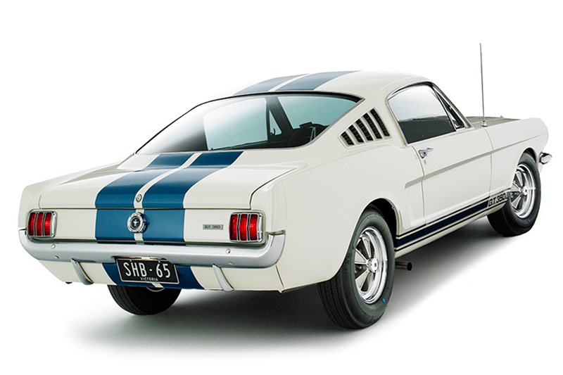Shelby -mustang -rear