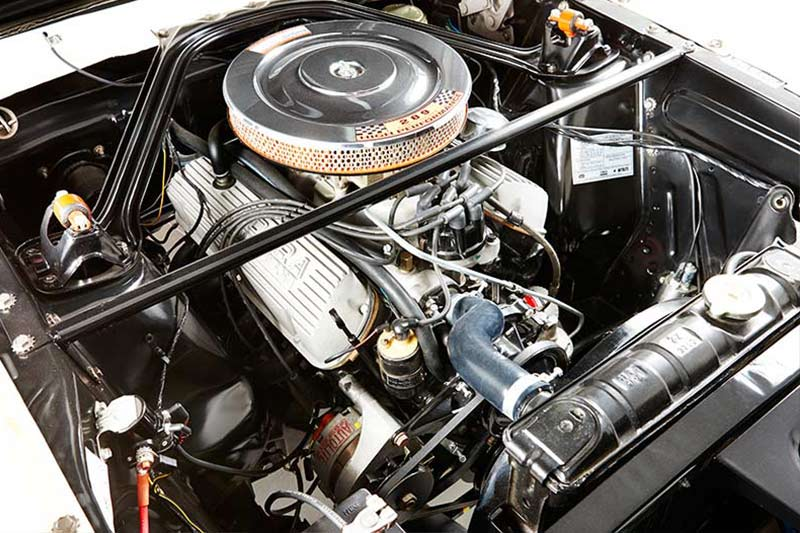 Shelby -mustang -engine