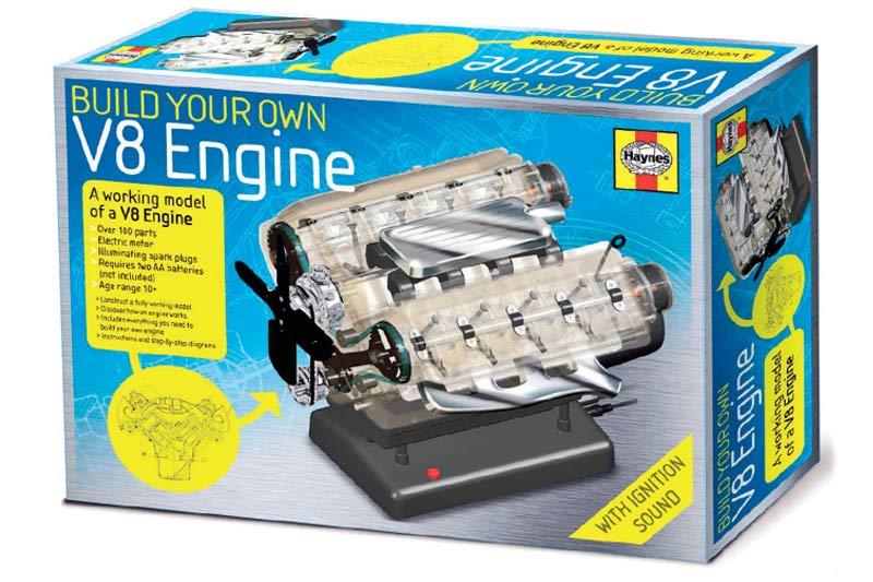 V 8-engine