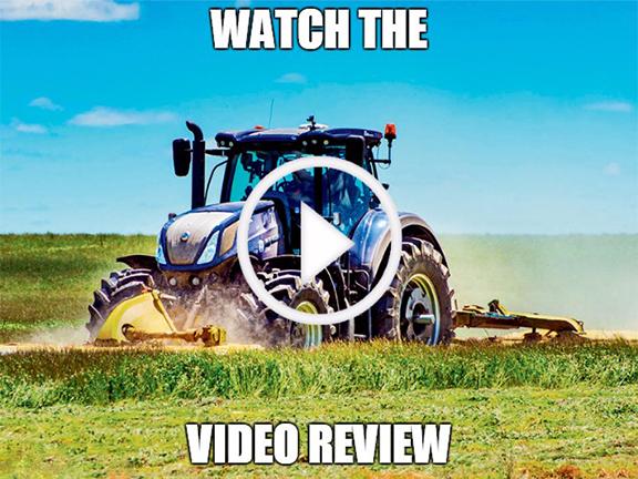 New Holland T7.315 blue power video