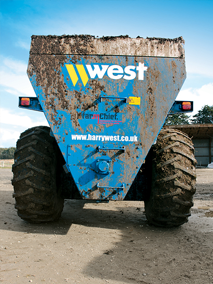 West dual 2000 spreader