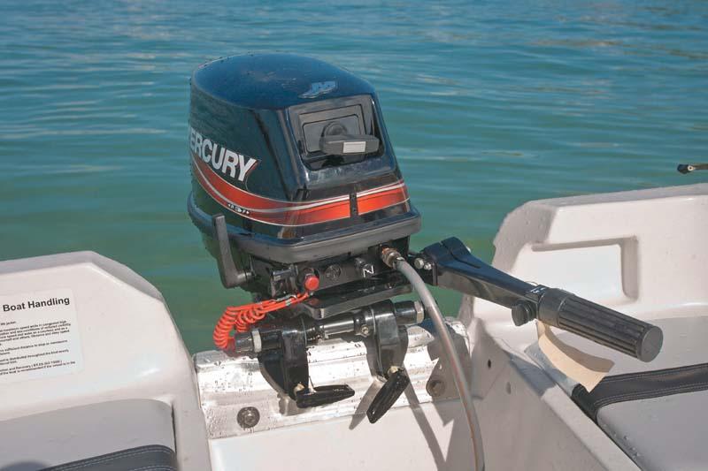 Mercury 40 hp LW outboard motor