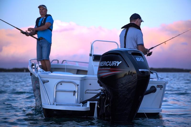 Mercury 80 hp Four Stroke outboard motor