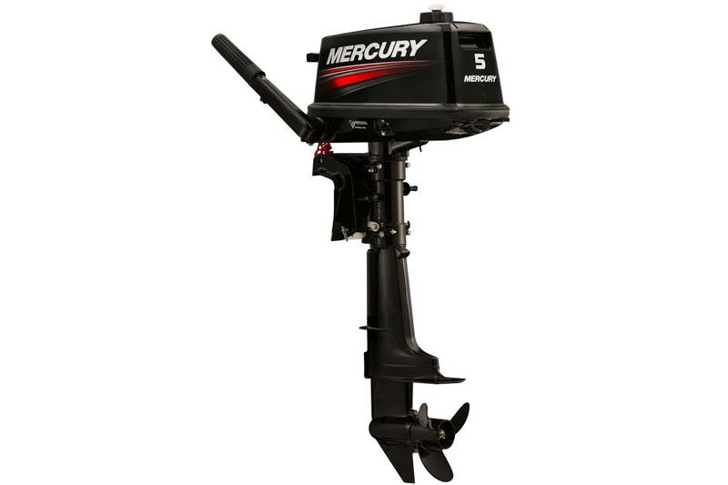 Mercury 5hp two-stroke portable outboard motor