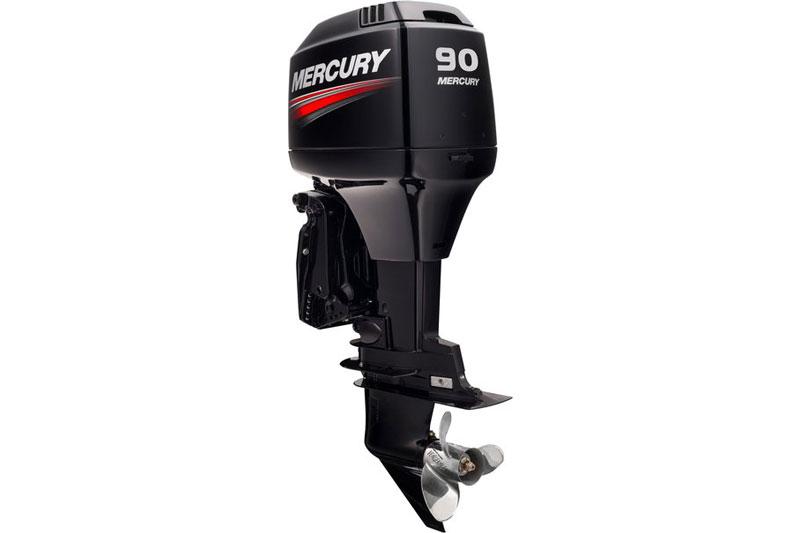 Mercury 90 hp two-stroke ELPTO marine engine