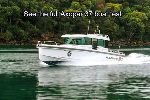 Axopar 37 boat review