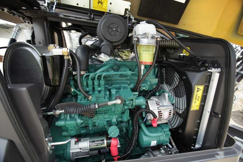 Volvo ECR50D engine