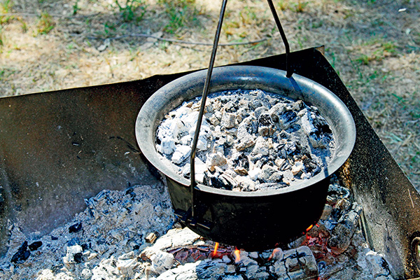 Cooking -over -coals -2