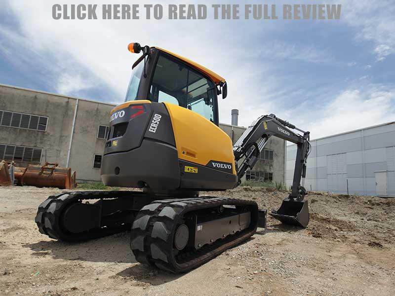 Volvo ECR50D excavator review