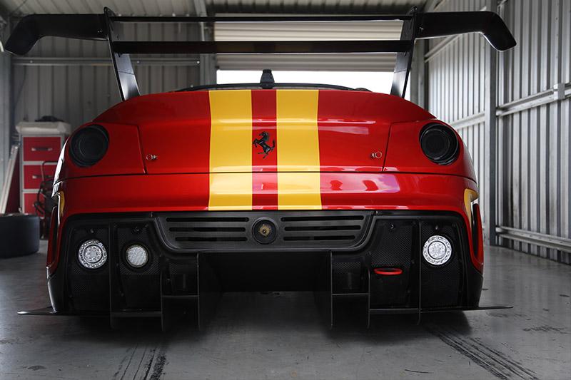 Ferrari -599xx -evoluzione -rear