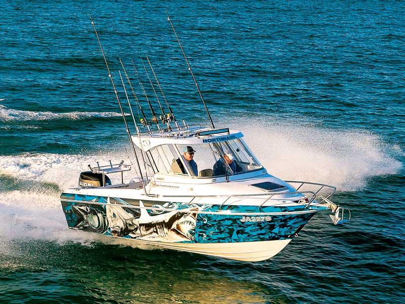 Northbank 650 Hard Top fishing boat