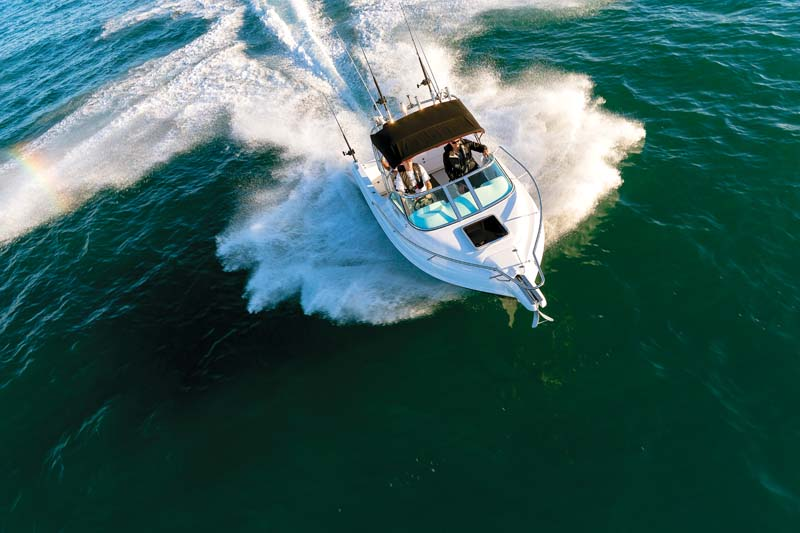 Haines Hunter 565R fishing boat