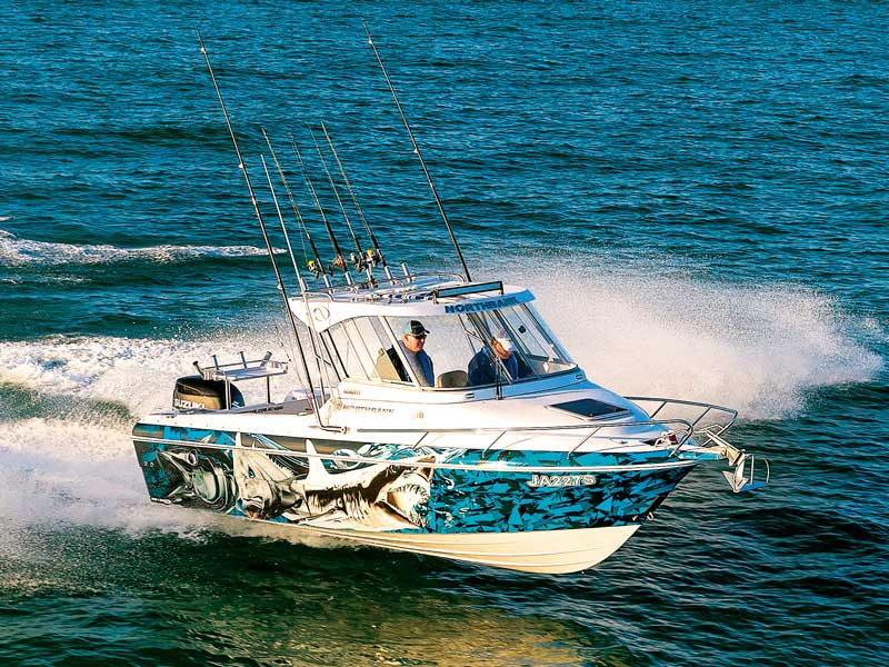Northbank 650 Hardtop fishing boat