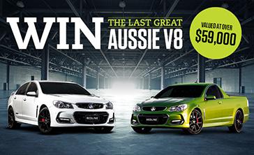 Holden -redline -giveaway -070217