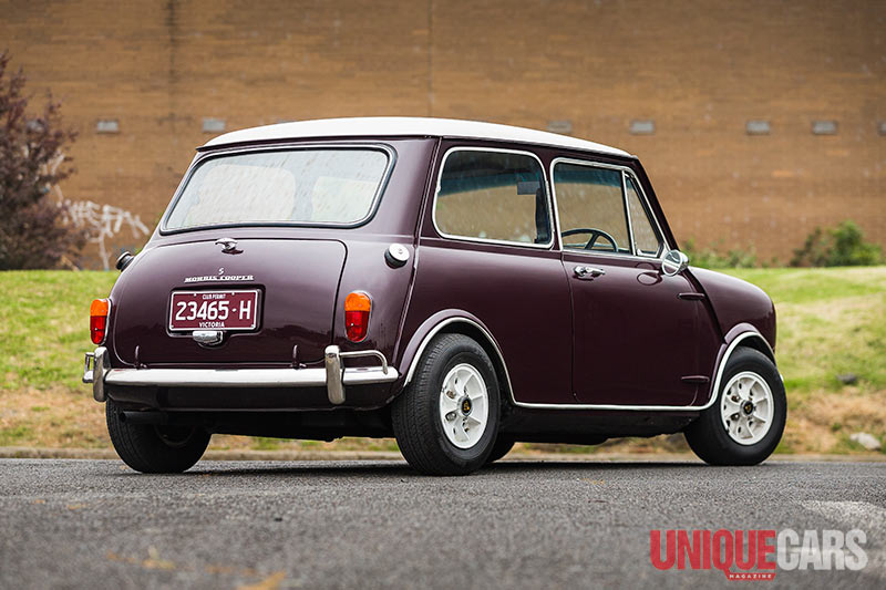 1969 Morris Mini Cooper S Review