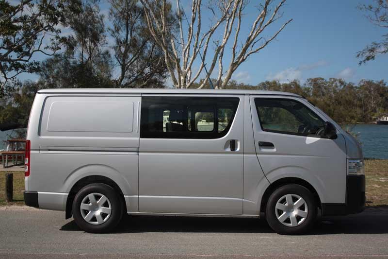826fe81071 Toyota HiAce LWB Crew Cab van review