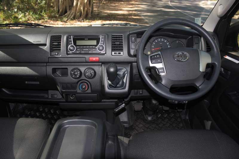 Toyota HiAce dashboard