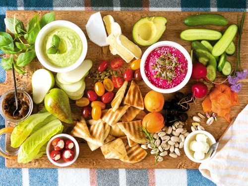 Dips -and -platter