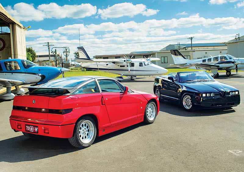 Alfa Romeo Sz And Rz Racing Rivals