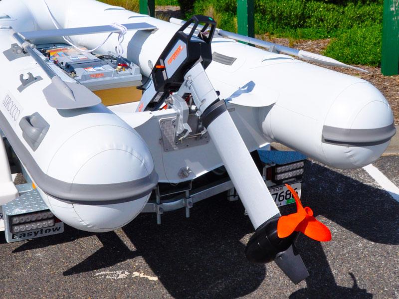 Torqeedo Cruise 4 electric outboard motor