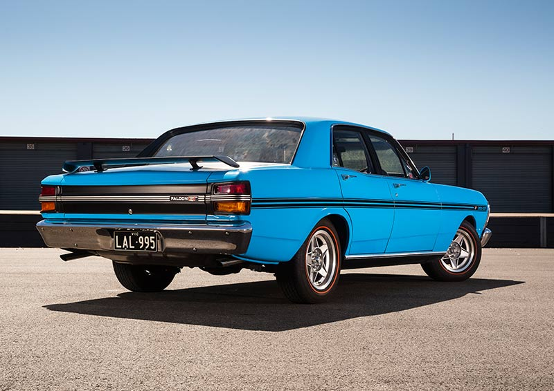 Ford -Falcon -GT-HO-Phase -III-rear