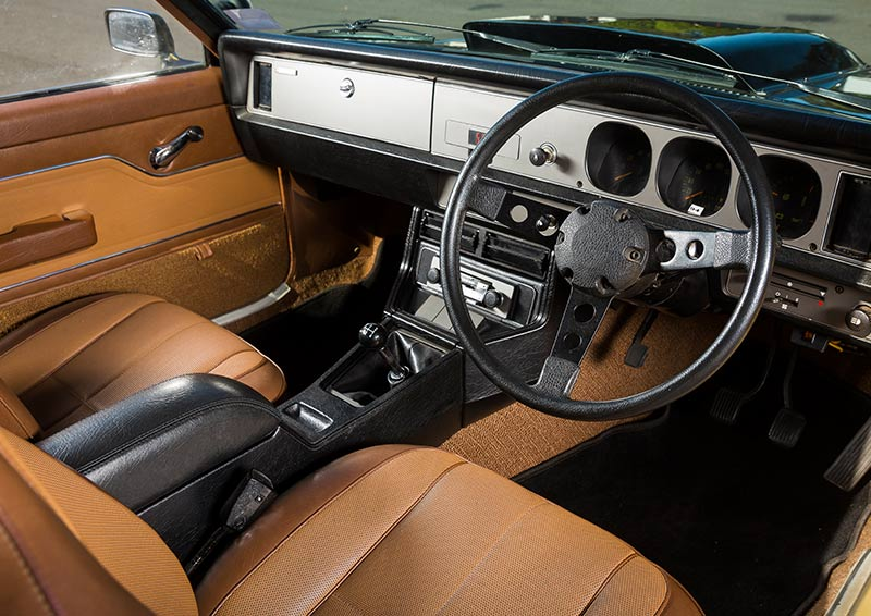 Jim -Richards -drives -the -Holden -Torana -A9X-interior
