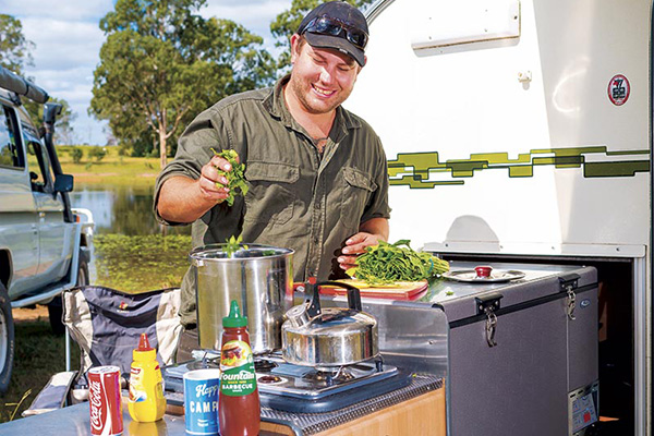 Camper -Trailer -Kitchens