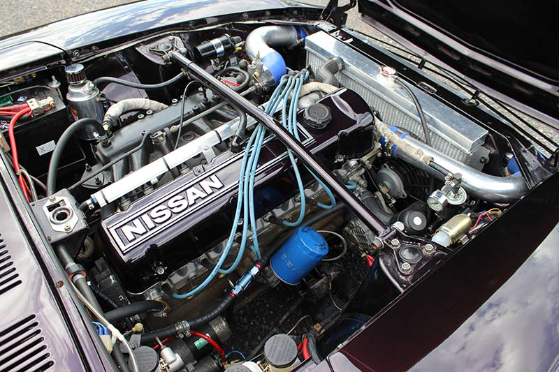 Datsun -240z -engine