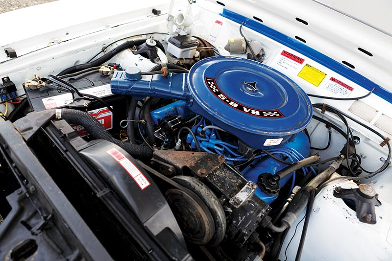 Ford -falcon -cobra -engine -bay