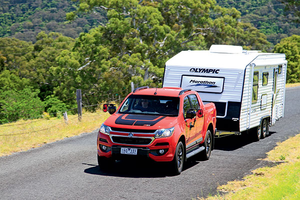 Holden -Colorado -Z71-Crew -Cab -Tow -Test