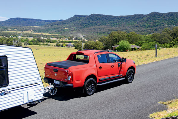Holden -Colorado -Z71-Crew -Cab -Tow -Test -2