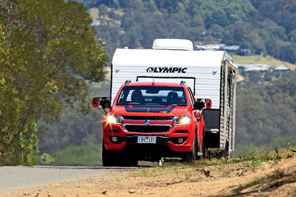 Holden -Colorado -Z71-Crew -Cab -Tow -Test -3