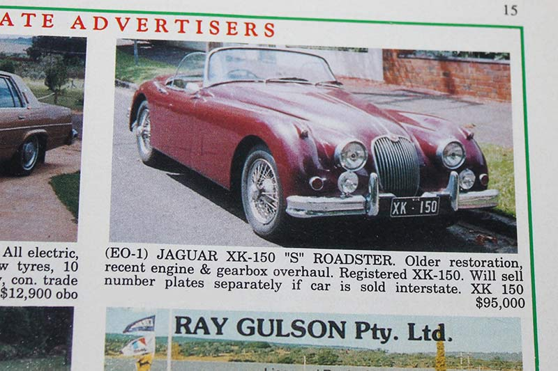Jaguar -xk 150s -roadster