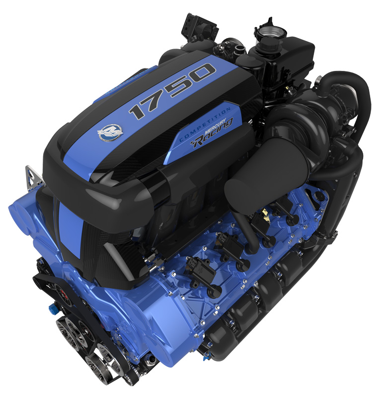 1750hp Mercury boat engine