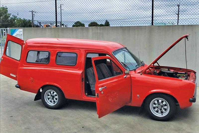 Ford -escort -van