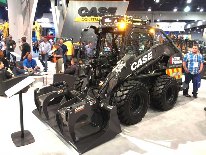 Case SV340 disaster response vehicle