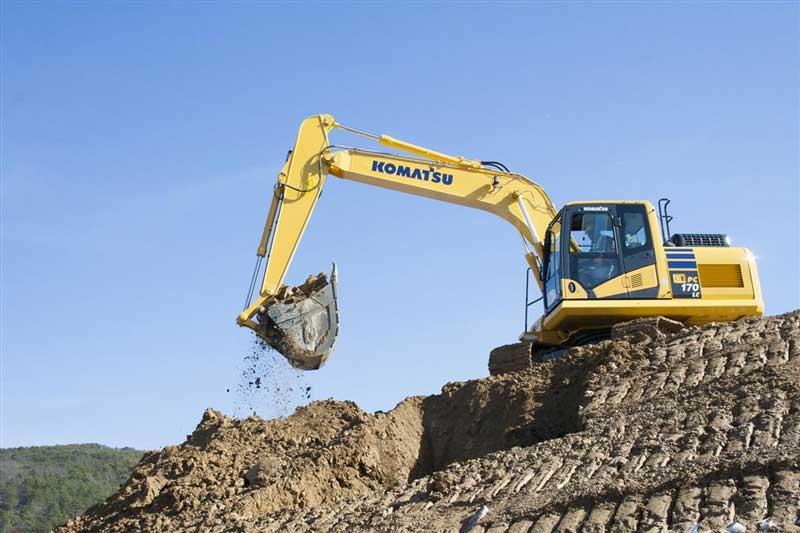 Komastu PC170LC-11 excavator
