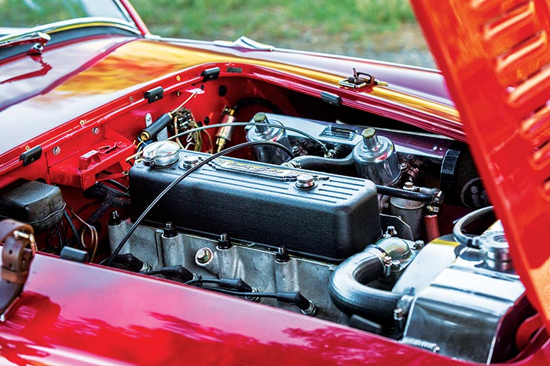 Austin -healey -engine