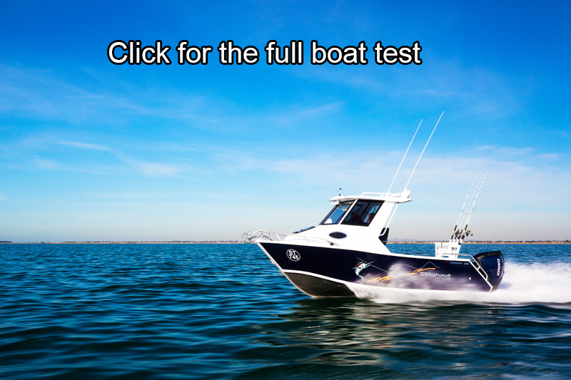 Formosa 580 Offshore Tomahawk Hardtop boat review
