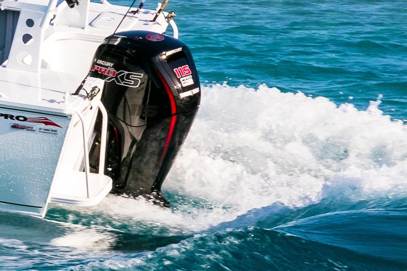 115hp Mercury Pro XS outboard motor