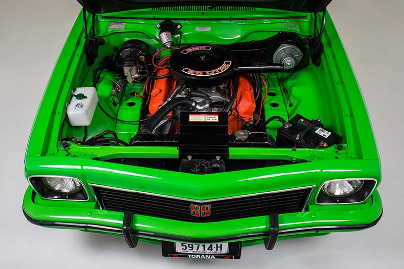 Torana -hatch -engine -bay