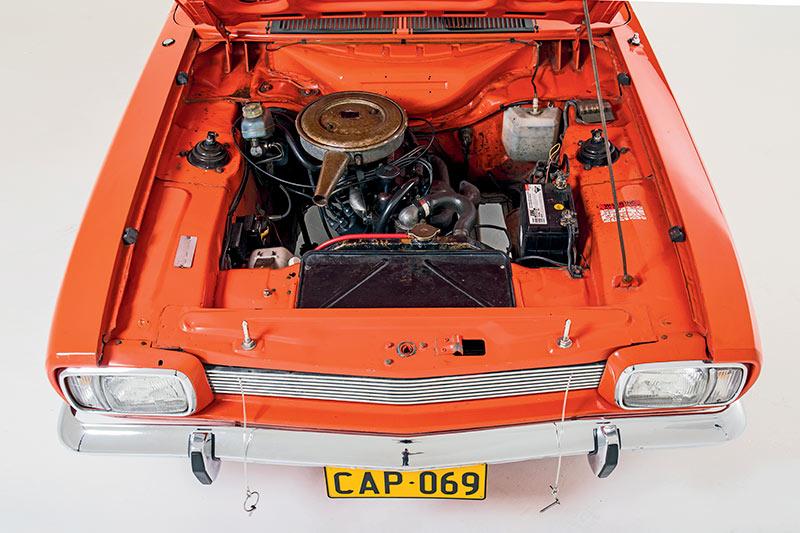 Ford -capri -engine