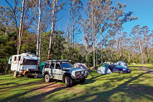 Set -up -at -the -Manna -Gum -camping -area