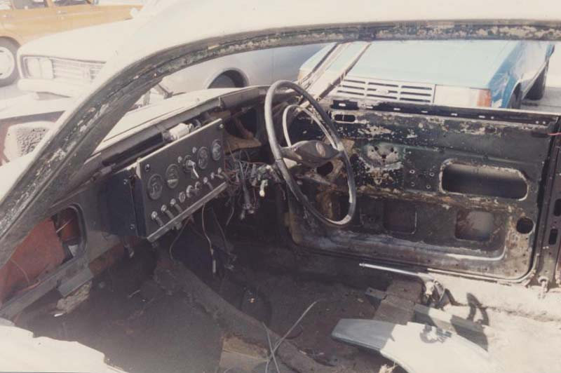 Jaguar -etype -interior -strip -out