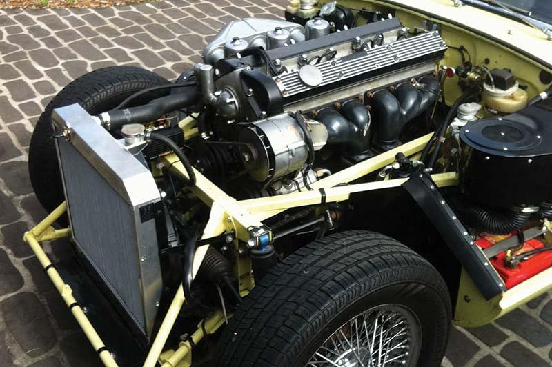 Jaguar -etype -resto -engine