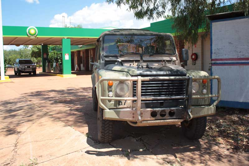 Land Rover Perenties