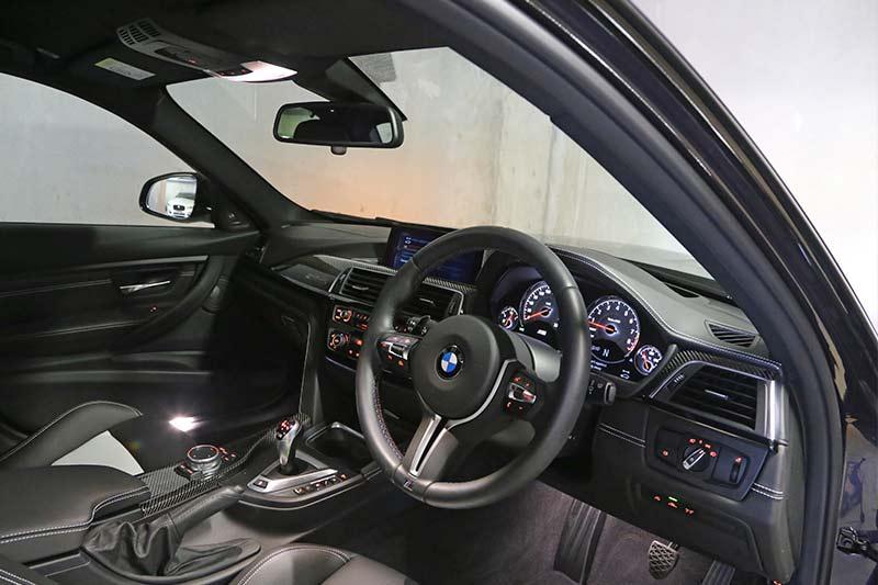 Bmw -m 3-jahre -interior -front