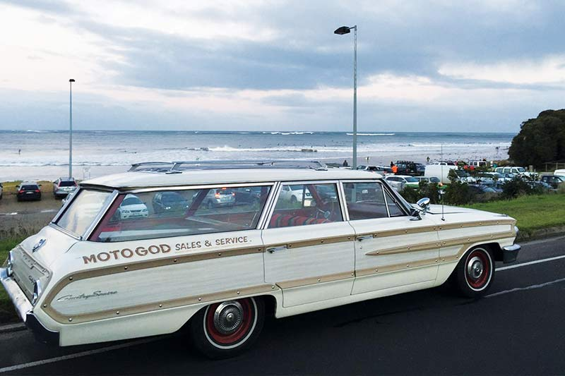 Ford -galaxie -country -squire